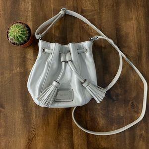 Tignanello Leather Bucket crossbody bag